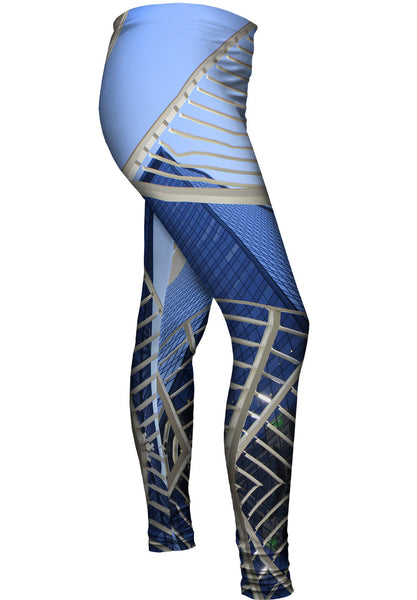 Abstract Structure Canada Womens Leggings