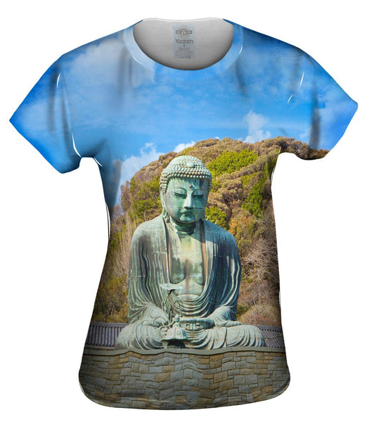 Great Buddha Of Kamakura Womens Top