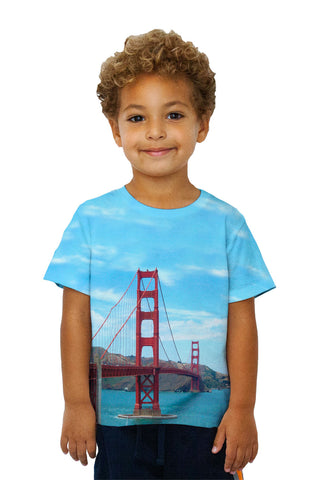 Kids Golden Gate Bridge San Francisco