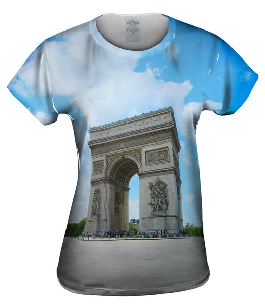 Arc De Triomphe Paris Womens Top
