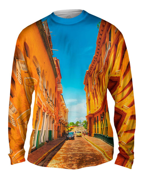 Cartagena Colombia Mens Long Sleeve