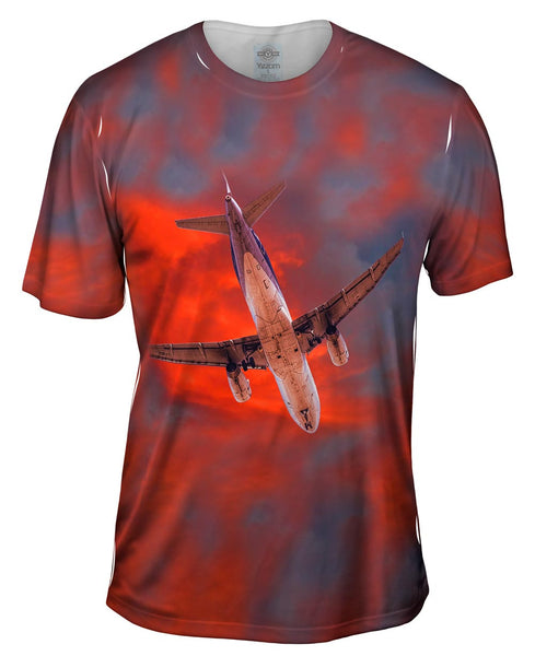 Crossing The November Sky Mens T-Shirt