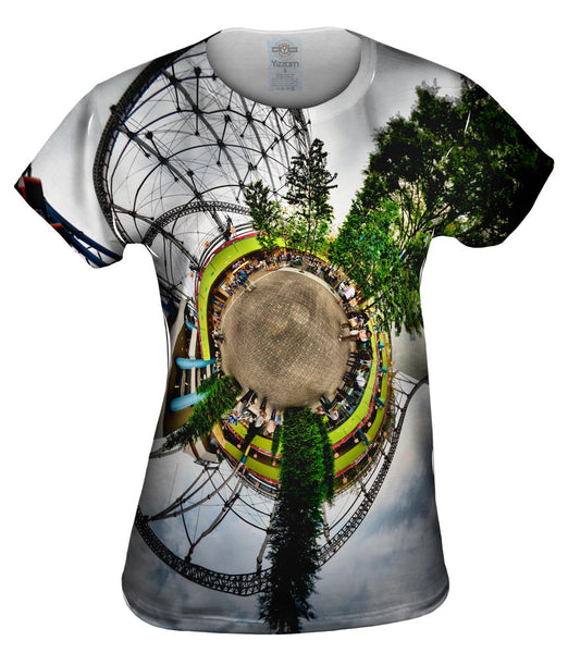 Roller Coaster Planet Womens Top