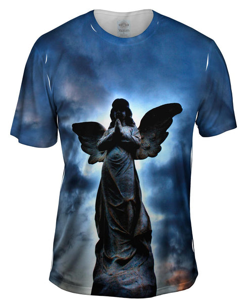 Cemetery Angel Mens T-Shirt