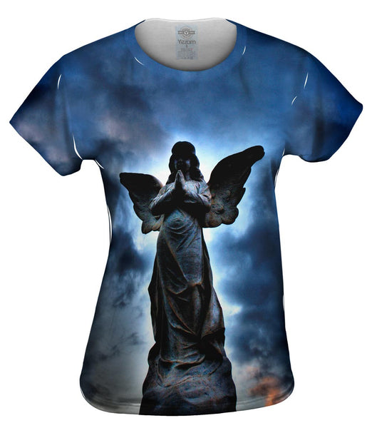 Cemetery Angel Womens Top