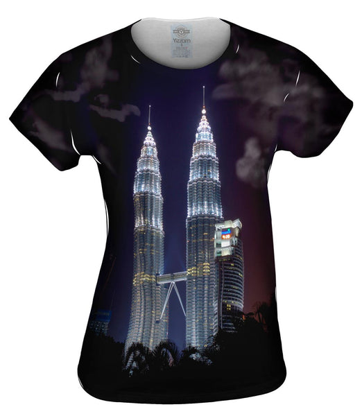 Malaysia Towers Womens Top