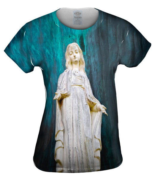 Virgen Mary Statue Womens Top