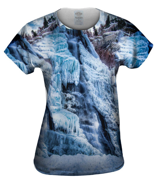 Ice Falls Womens Top