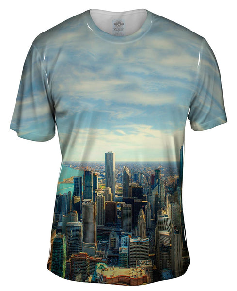 Chicago Skyline Mens T-Shirt