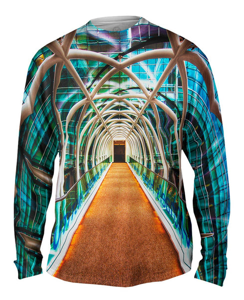Cool Pedestrian Bridge Mens Long Sleeve