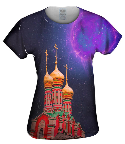 Golden Domes Womens Top
