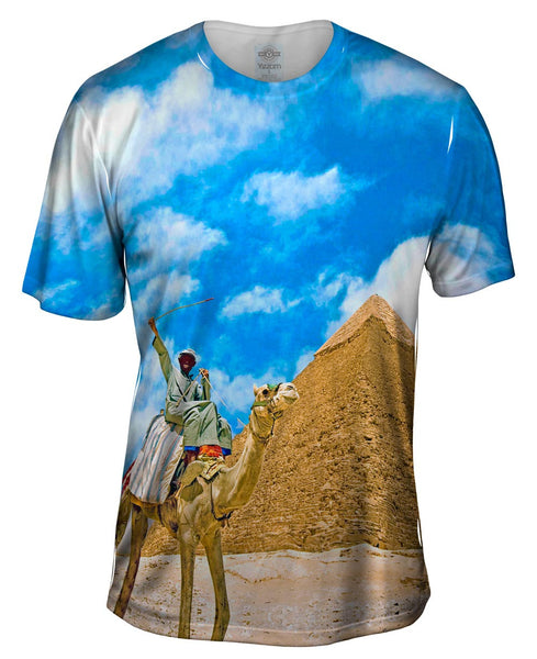 Camel Ride Mens T-Shirt