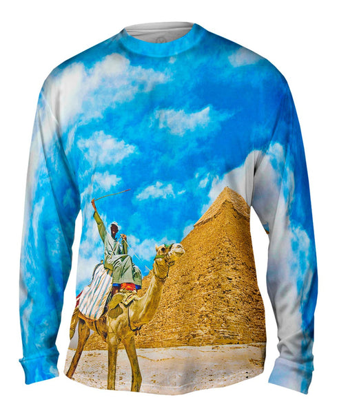 Camel Ride Mens Long Sleeve