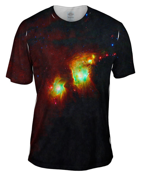 Space Galaxy Messier 78 Mens T-Shirt