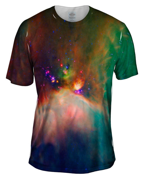 Space Galaxy Rho Oph Babies Mens T-Shirt