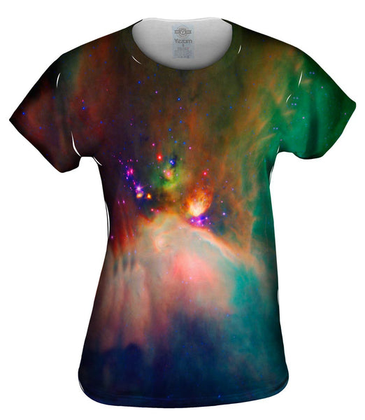 Space Galaxy Rho Oph Babies Womens Top