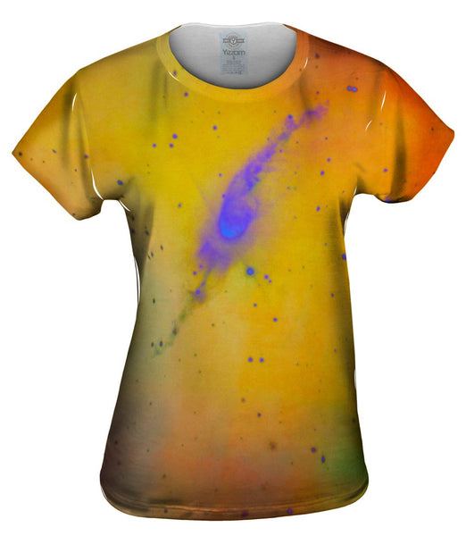 Space Galaxy Garden Sprinkler Nebula Womens Top