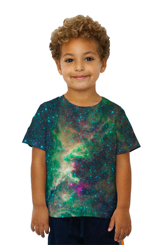 Kids Space Galaxy Cepheus Star Clouds