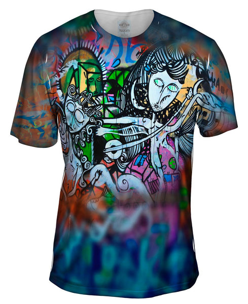 Graffiti Sisters Mens T-Shirt