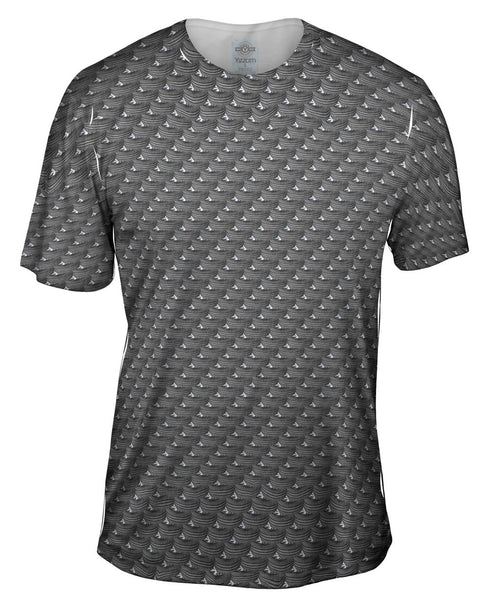 Tire Speed Star Mens T-Shirt