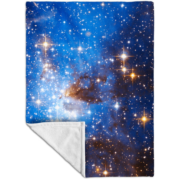 Stellar Space Nursery Fleece Blanket