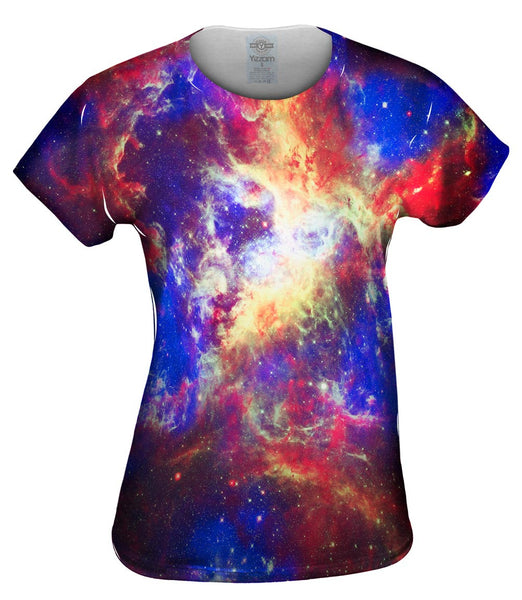 Tarantula Space Nebula Womens Top