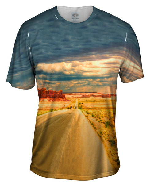 Arizona Go West Open Road Mens T-Shirt
