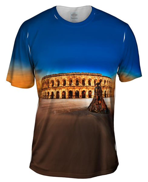Nimes Arena Roman Empire Mens T-Shirt
