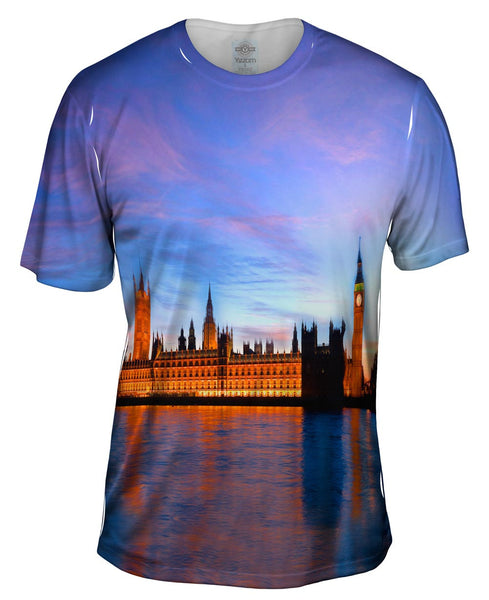 Palace Of Westminster London Mens T-Shirt