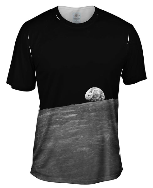 Earth Rise Space Mens T-Shirt