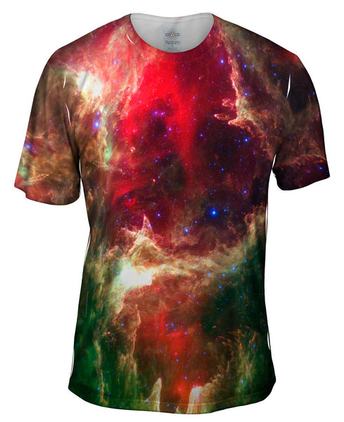 W5 Cropped Space Mens T-Shirt