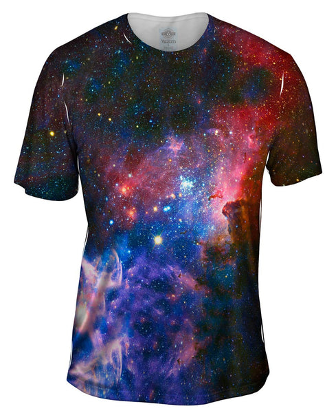 Carina Nebula Space Galaxy Mens T-Shirt