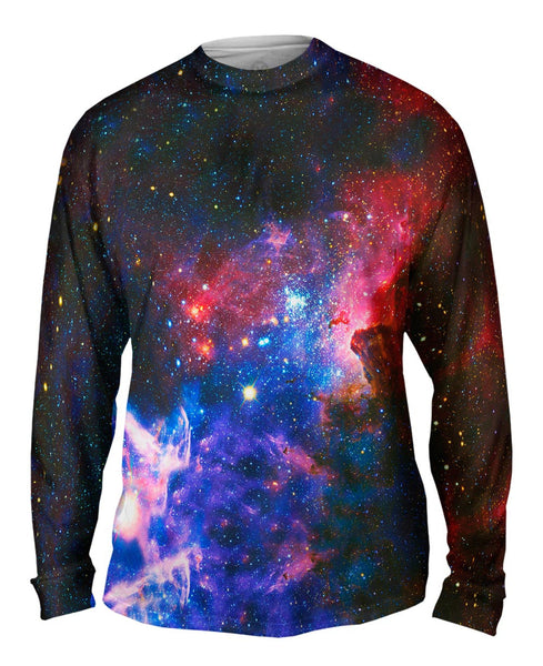 Carina Nebula Space Galaxy Mens Long Sleeve
