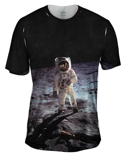 Aldrin Apollo Space Walk Mens T-Shirt