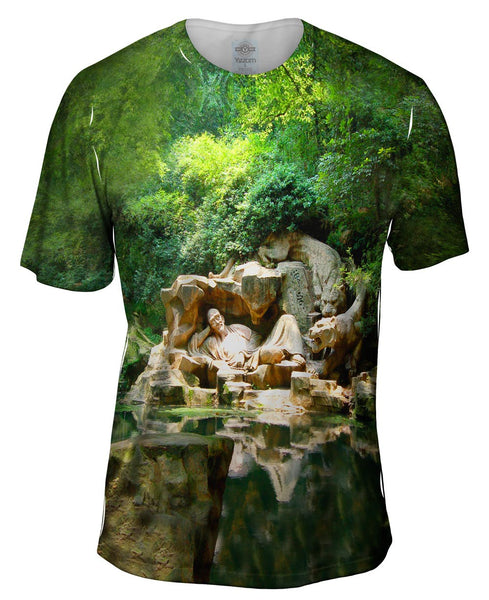 Dreaming Of The Tiger Spring In Hangzhou Mens T-Shirt