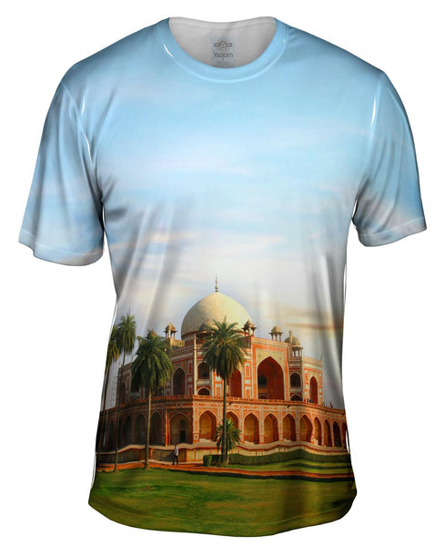 Humayun Tomb Delhi India Mens T-Shirt