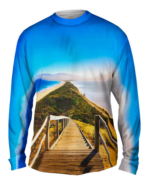 Bruny Island Tasmania Australia Mens Long Sleeve
