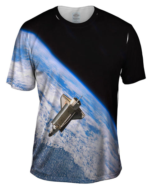 Space Shuttle Atlantis Mens T-Shirt