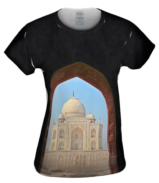 Door Way Taj Mahal Agra India Womens Top
