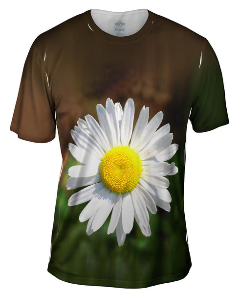 Garden Daisy Morning Mens T-Shirt