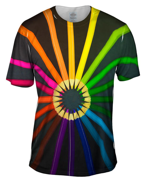 Coloring Pencils For School Mens T-Shirt