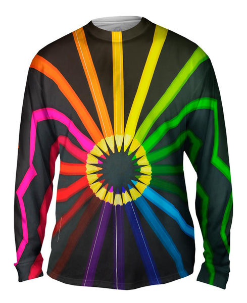 Coloring Pencils For School Mens Long Sleeve