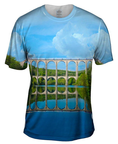 Train Architecture Mens T-Shirt