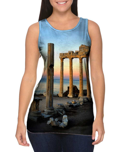 Temple Of Apollo Womens Tank Top