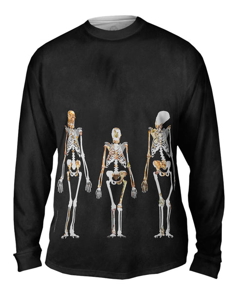 Australopithecus Sediba And Lucy Mens Long Sleeve