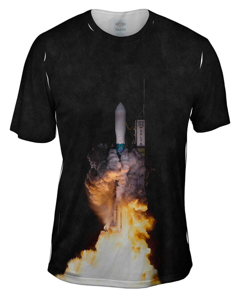 Kepler Mission Delta Ii Liftoff To Space Mens T-Shirt