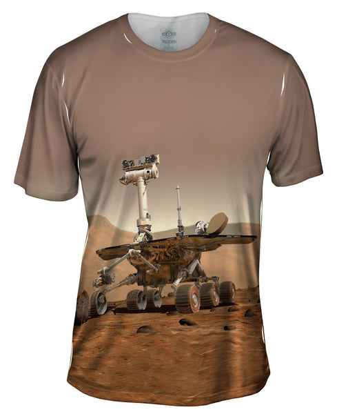 NASA Mars Rover Space Mens T-Shirt