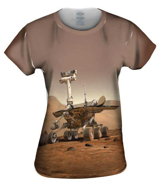 NASA Mars Rover Space Womens Top