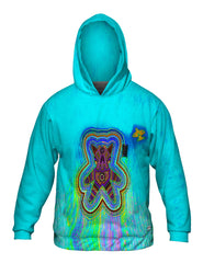 Yizzam Gummy Bear Time Allover Print Mens Hoodie Sweater