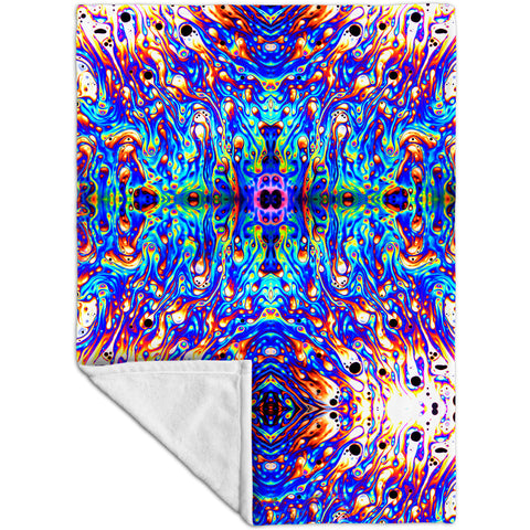 Psychedelic Neon Soap Party Violet